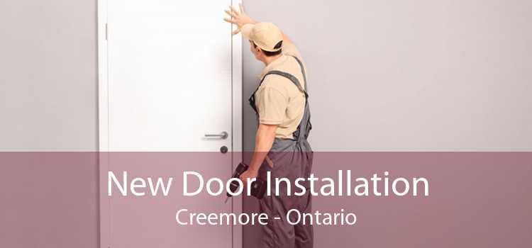 New Door Installation Creemore - Ontario